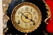 The E. Ingraham Co mantle clock, made in Bristol, Conn USA