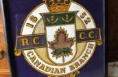 vintage Canadian legion sign