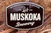 Muskoka brewery sign