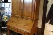 antique live edge table