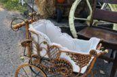 antique victorian stroller