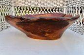 brown wooden basin